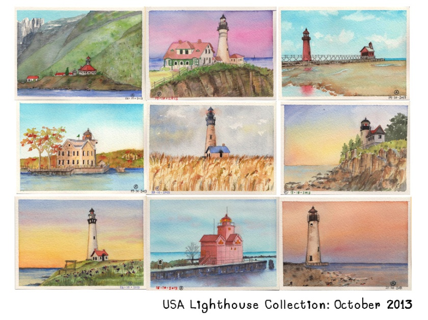 Lighthouses are such beautiful construction!
