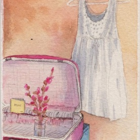 """I am calling this pictire """"the Pink Suitcase"""" cause I can be so lame when I want to."""